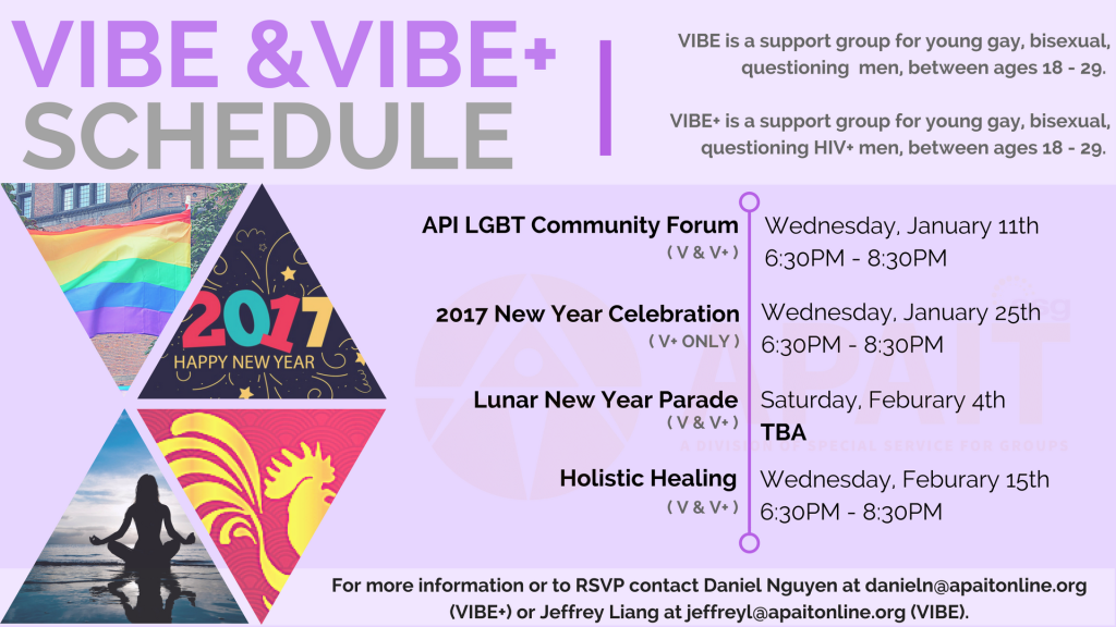 VIBE+ Schedule #3