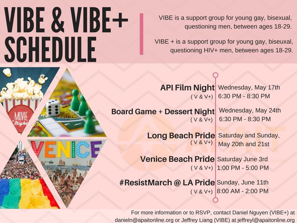 VIBE & VIBE +SCHEDULE May + June (2)